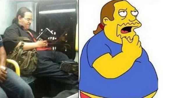 Σωσίες των Simpsons στην πραγματική ζωή (1)