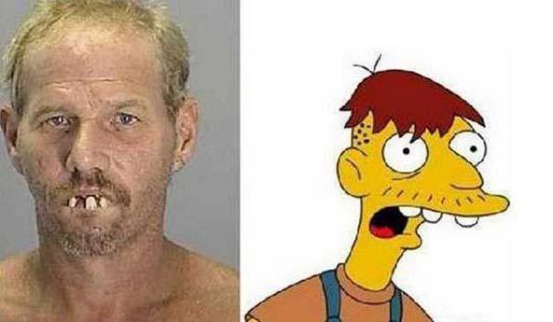 Σωσίες των Simpsons στην πραγματική ζωή (7)