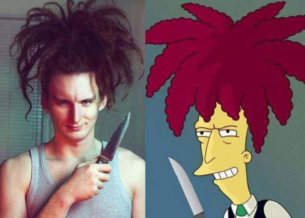Σωσίες των Simpsons στην πραγματική ζωή (13)