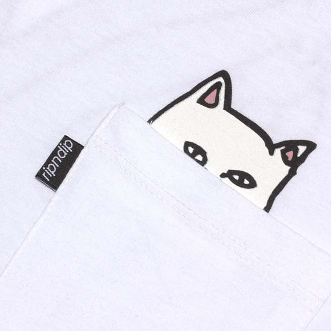 T-shirts με γατούλα στην τσέπη που κρύβει εκπλήξεις (2)