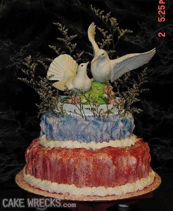 Χειρότερες γαμήλιες τούρτες (21)
