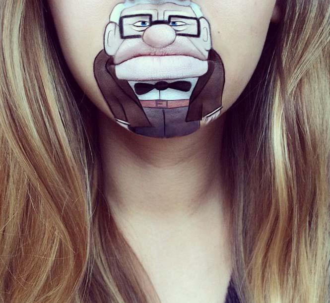 Η Laura Jenkinson χρησιμοποιεί μακιγιάζ για να μετατρέψει στόματα ανθρώπων σε χαρακτήρες cartoon (5)