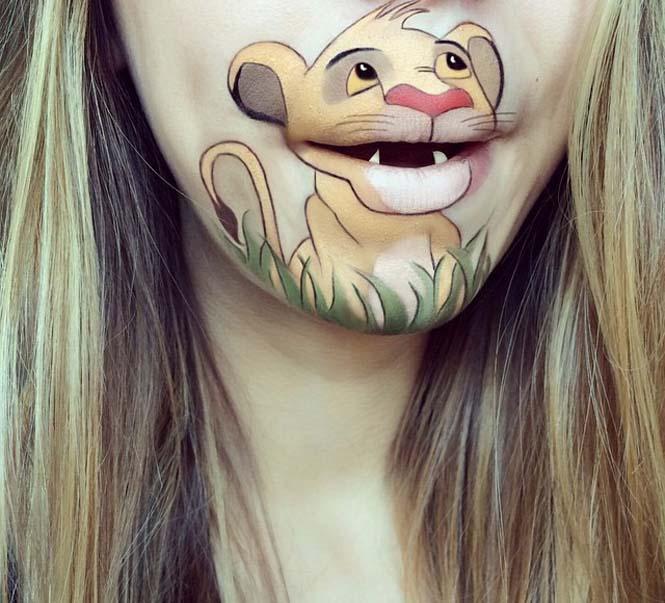 Η Laura Jenkinson χρησιμοποιεί μακιγιάζ για να μετατρέψει στόματα ανθρώπων σε χαρακτήρες cartoon (7)