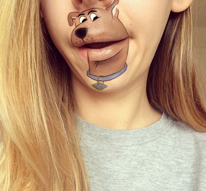 Η Laura Jenkinson χρησιμοποιεί μακιγιάζ για να μετατρέψει στόματα ανθρώπων σε χαρακτήρες cartoon (12)