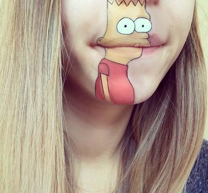 Η Laura Jenkinson χρησιμοποιεί μακιγιάζ για να μετατρέψει στόματα ανθρώπων σε χαρακτήρες cartoon (14)