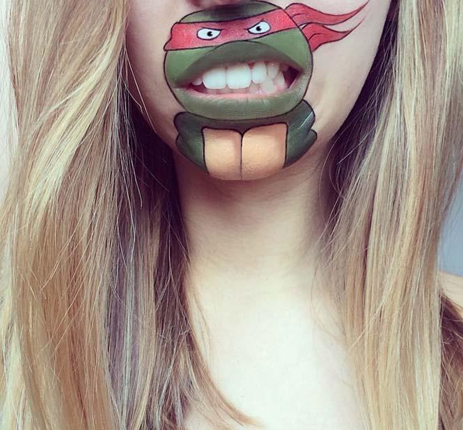 Η Laura Jenkinson χρησιμοποιεί μακιγιάζ για να μετατρέψει στόματα ανθρώπων σε χαρακτήρες cartoon (15)