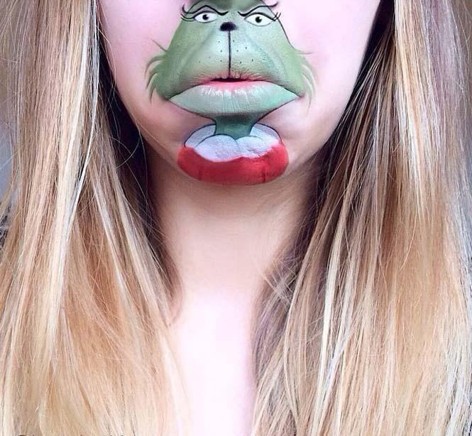 Η Laura Jenkinson χρησιμοποιεί μακιγιάζ για να μετατρέψει στόματα ανθρώπων σε χαρακτήρες cartoon (17)