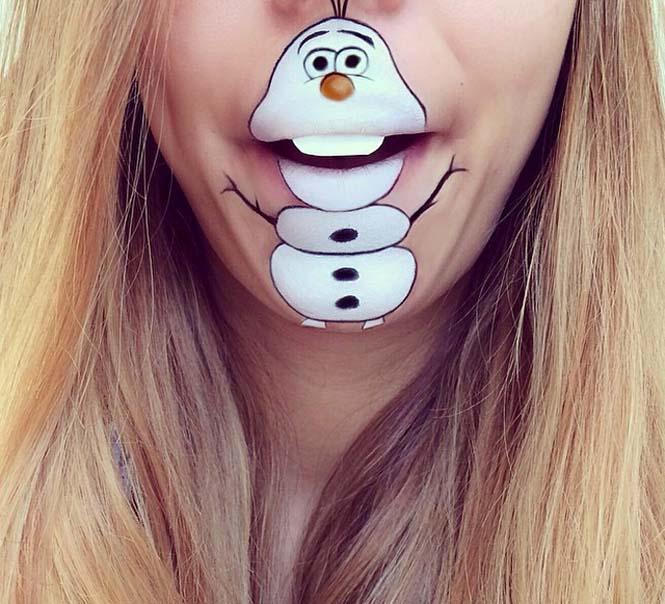 Η Laura Jenkinson χρησιμοποιεί μακιγιάζ για να μετατρέψει στόματα ανθρώπων σε χαρακτήρες cartoon (19)