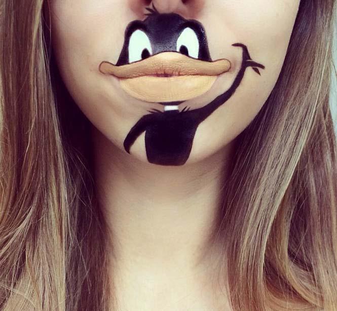 Η Laura Jenkinson χρησιμοποιεί μακιγιάζ για να μετατρέψει στόματα ανθρώπων σε χαρακτήρες cartoon (22)