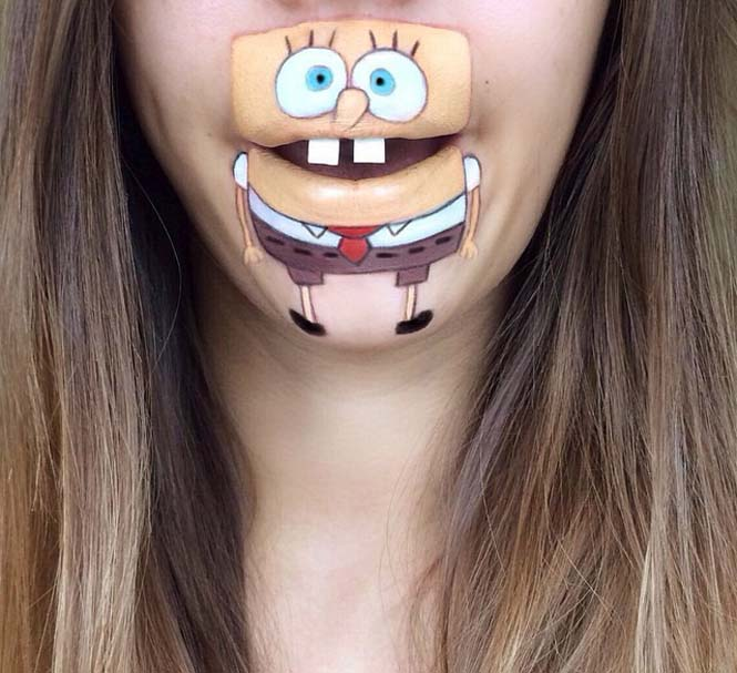 Η Laura Jenkinson χρησιμοποιεί μακιγιάζ για να μετατρέψει στόματα ανθρώπων σε χαρακτήρες cartoon (24)