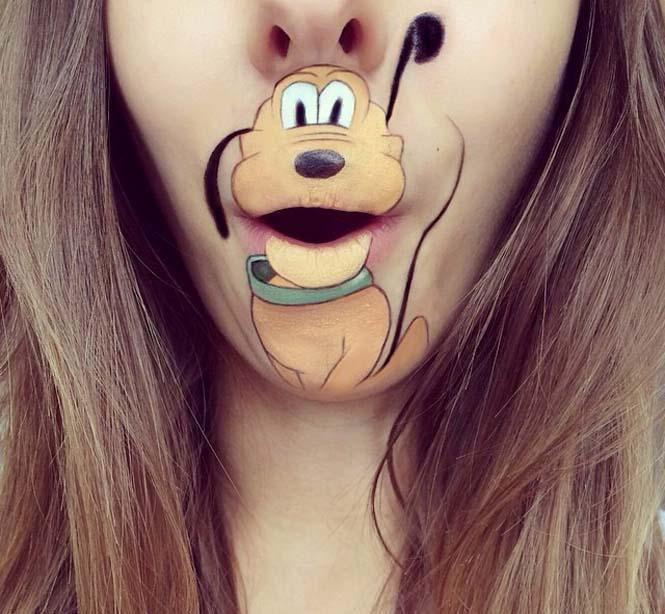 Η Laura Jenkinson χρησιμοποιεί μακιγιάζ για να μετατρέψει στόματα ανθρώπων σε χαρακτήρες cartoon (26)