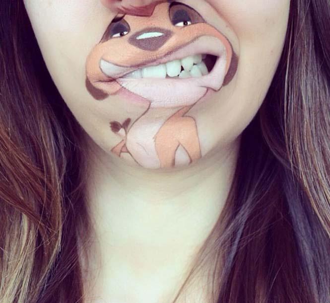 Η Laura Jenkinson χρησιμοποιεί μακιγιάζ για να μετατρέψει στόματα ανθρώπων σε χαρακτήρες cartoon (27)