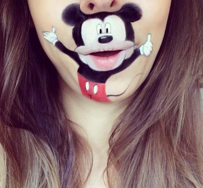 Η Laura Jenkinson χρησιμοποιεί μακιγιάζ για να μετατρέψει στόματα ανθρώπων σε χαρακτήρες cartoon (28)