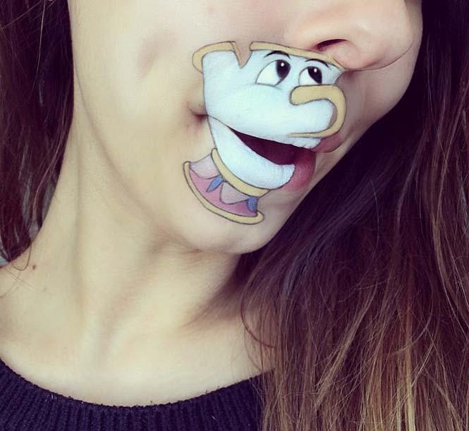 Η Laura Jenkinson χρησιμοποιεί μακιγιάζ για να μετατρέψει στόματα ανθρώπων σε χαρακτήρες cartoon (29)