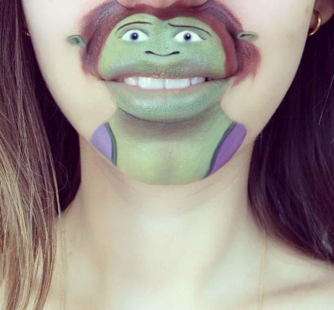 Η Laura Jenkinson χρησιμοποιεί μακιγιάζ για να μετατρέψει στόματα ανθρώπων σε χαρακτήρες cartoon (30)