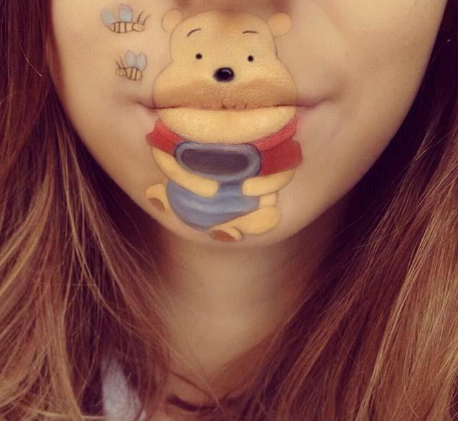 Η Laura Jenkinson χρησιμοποιεί μακιγιάζ για να μετατρέψει στόματα ανθρώπων σε χαρακτήρες cartoon (33)