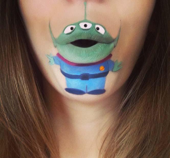 Η Laura Jenkinson χρησιμοποιεί μακιγιάζ για να μετατρέψει στόματα ανθρώπων σε χαρακτήρες cartoon (34)