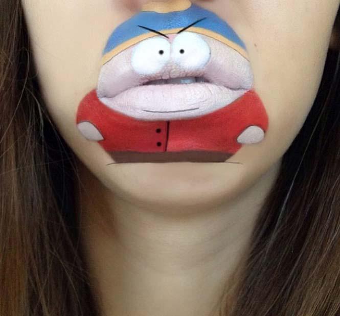 Η Laura Jenkinson χρησιμοποιεί μακιγιάζ για να μετατρέψει στόματα ανθρώπων σε χαρακτήρες cartoon (35)