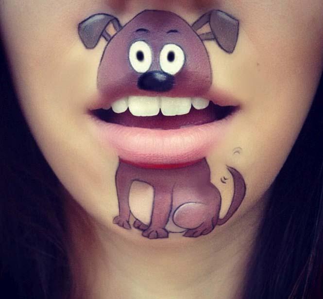 Η Laura Jenkinson χρησιμοποιεί μακιγιάζ για να μετατρέψει στόματα ανθρώπων σε χαρακτήρες cartoon (38)