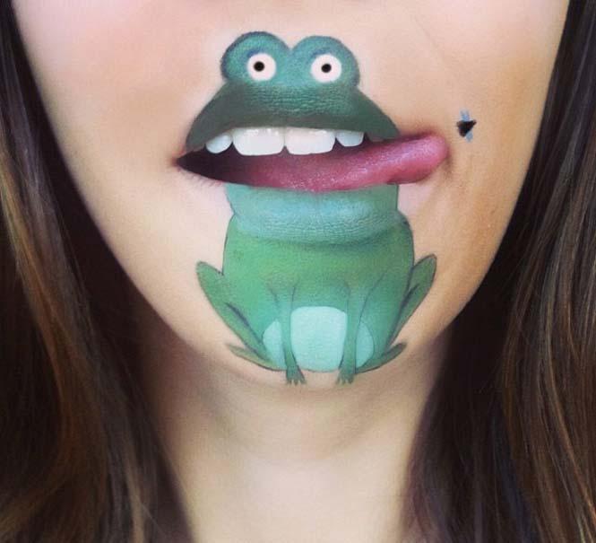 Η Laura Jenkinson χρησιμοποιεί μακιγιάζ για να μετατρέψει στόματα ανθρώπων σε χαρακτήρες cartoon (39)