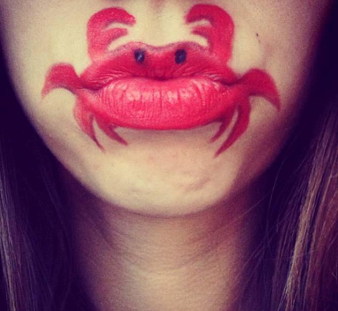 Η Laura Jenkinson χρησιμοποιεί μακιγιάζ για να μετατρέψει στόματα ανθρώπων σε χαρακτήρες cartoon (40)
