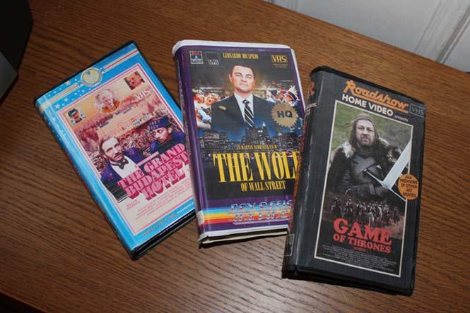 Αν οι σημερινές ταινίες και σειρές κυκλοφορούσαν σε βιντεοκασέτες (3)