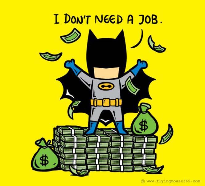 Αν οι super ήρωες είχαν καθημερινές δουλειές (5)