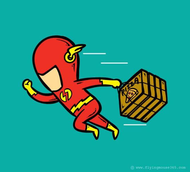 Αν οι super ήρωες είχαν καθημερινές δουλειές (13)
