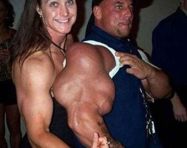 Bodybuilders που... το παράκαναν! (Εικόνες)