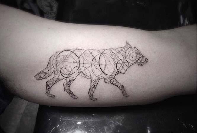 Ο Brian Woo έγινε διάσημος χάρη στα εκπληκτικά γεωμετρικά τατουάζ που δημιουργεί (4)
