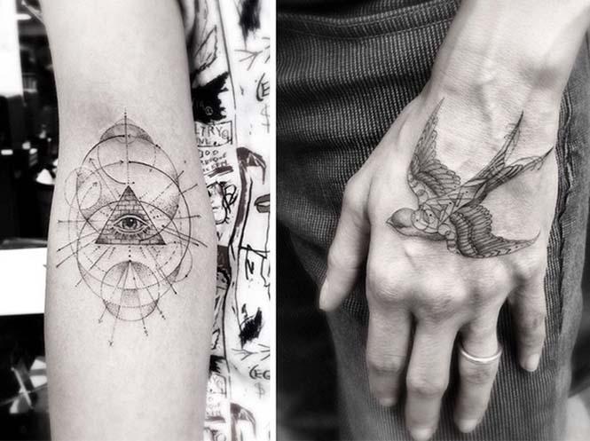 Ο Brian Woo έγινε διάσημος χάρη στα εκπληκτικά γεωμετρικά τατουάζ που δημιουργεί (5)