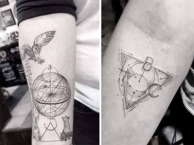 Ο Brian Woo έγινε διάσημος χάρη στα εκπληκτικά γεωμετρικά τατουάζ που δημιουργεί (6)