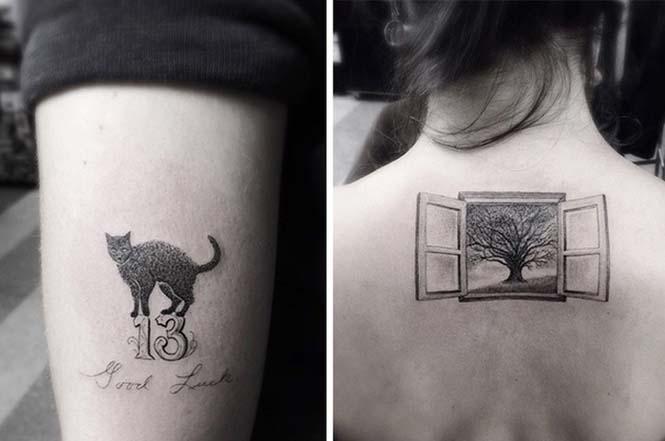 Ο Brian Woo έγινε διάσημος χάρη στα εκπληκτικά γεωμετρικά τατουάζ που δημιουργεί (7)