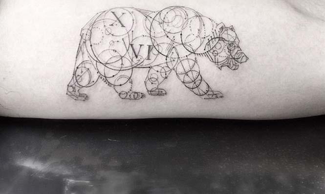 Ο Brian Woo έγινε διάσημος χάρη στα εκπληκτικά γεωμετρικά τατουάζ που δημιουργεί (9)