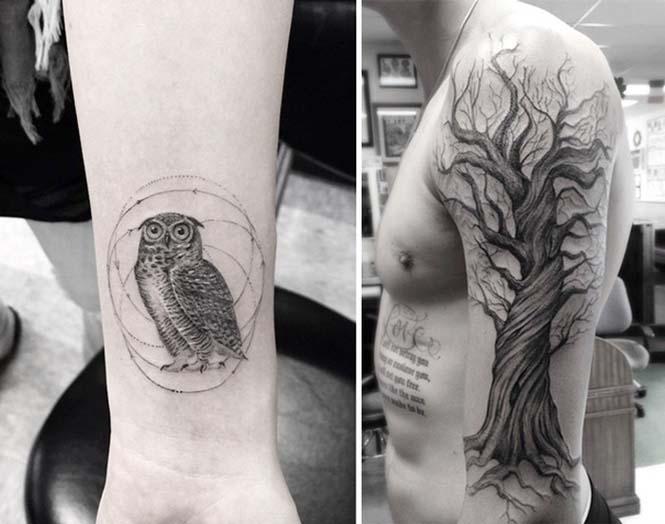 Ο Brian Woo έγινε διάσημος χάρη στα εκπληκτικά γεωμετρικά τατουάζ που δημιουργεί (14)