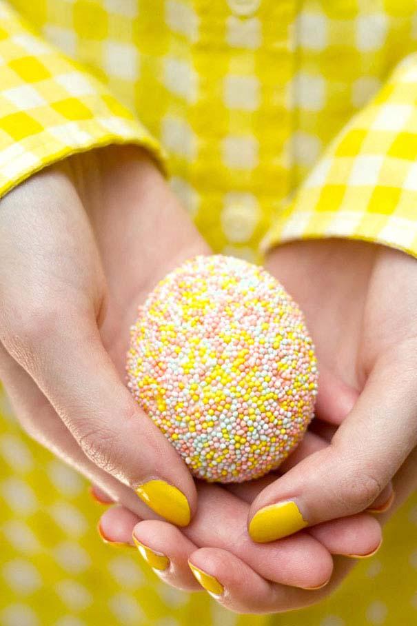 Εκπληκτικές ιδέες διακόσμησης για πασχαλινά αβγά (6)