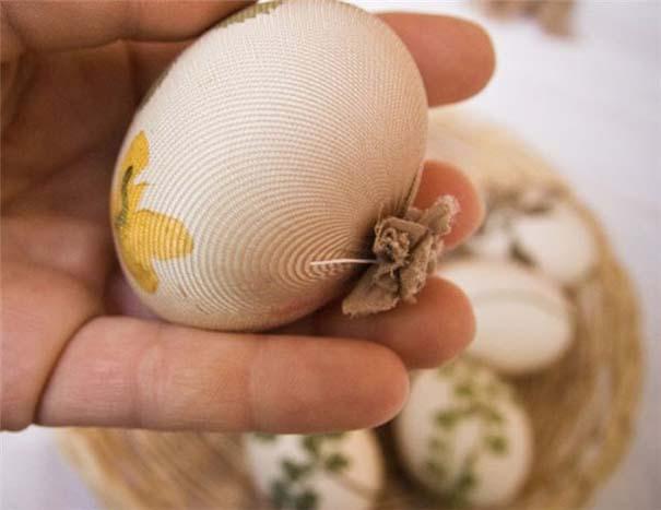 Εκπληκτικές ιδέες διακόσμησης για πασχαλινά αβγά (9)