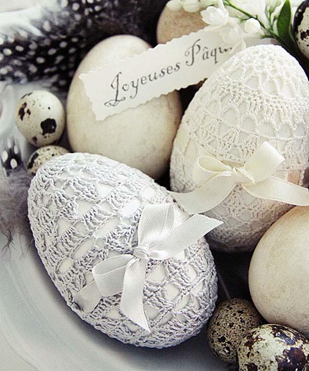 Εκπληκτικές ιδέες διακόσμησης για πασχαλινά αβγά (15)