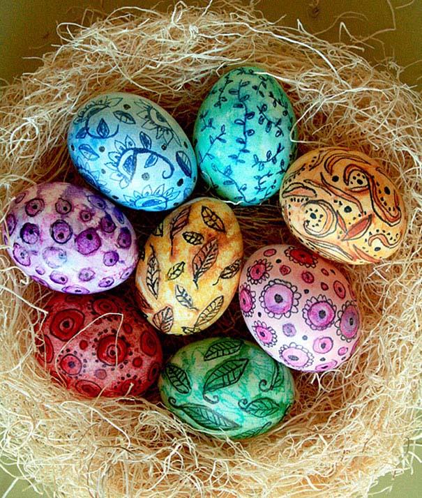 Εκπληκτικές ιδέες διακόσμησης για πασχαλινά αβγά (18)