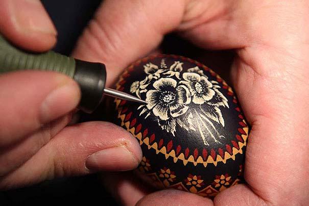 Εκπληκτικές ιδέες διακόσμησης για πασχαλινά αβγά (20)