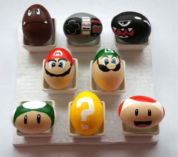 Εκπληκτικές ιδέες διακόσμησης για πασχαλινά αβγά (22)