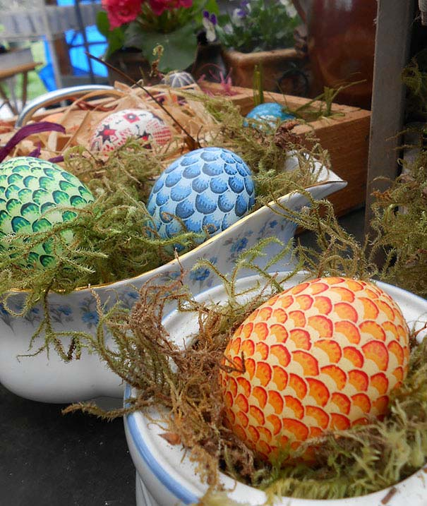 Εκπληκτικές ιδέες διακόσμησης για πασχαλινά αβγά (23)