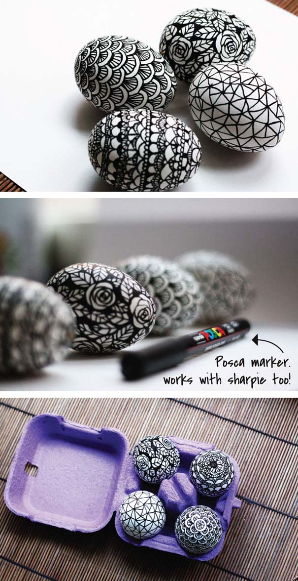 Εκπληκτικές ιδέες διακόσμησης για πασχαλινά αβγά (25)