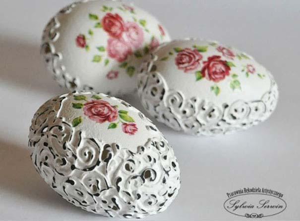 Εκπληκτικές ιδέες διακόσμησης για πασχαλινά αβγά (30)