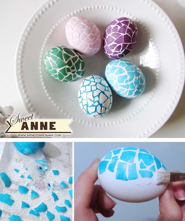 Εκπληκτικές ιδέες διακόσμησης για πασχαλινά αβγά (31)