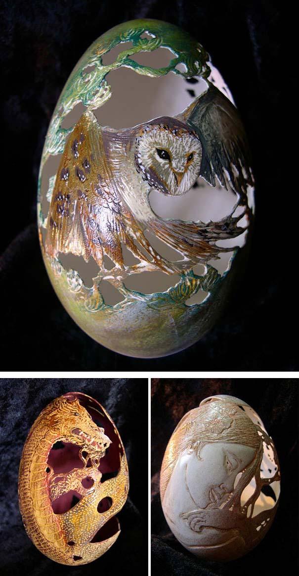 Εκπληκτικές ιδέες διακόσμησης για πασχαλινά αβγά (35)