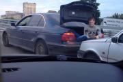 Εν τω μεταξύ, σε έναν αυτοκινητόδρομο της Ρωσίας...