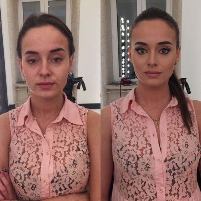 Εντυπωσιακές μεταμορφώσεις γυναικών με μακιγιάζ από τον Ravil Agmalov (3)