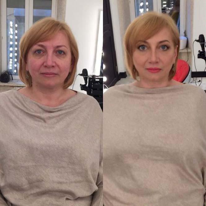 Εντυπωσιακές μεταμορφώσεις γυναικών με μακιγιάζ από τον Ravil Agmalov (4)