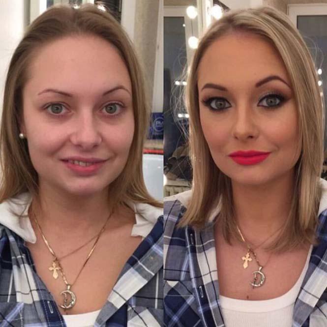 Εντυπωσιακές μεταμορφώσεις γυναικών με μακιγιάζ από τον Ravil Agmalov (6)